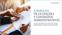 A Nova Lei de Licitações e Contratos Administrativos